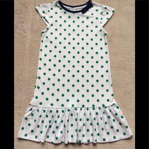 Gymboree Girls Spring Dress, Size 8, Polka-Dots